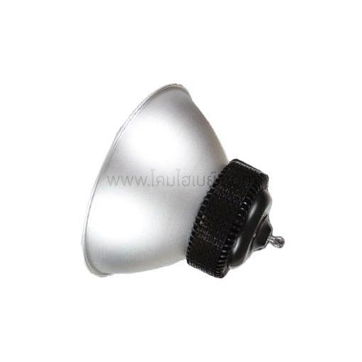 ภาพฝาชีพร้อมโคมไฮเบย์ LED (HBA) 100W (เดย์ไลท์) BEC