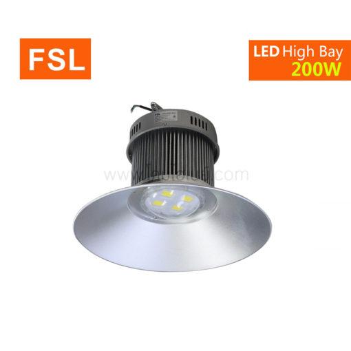 มุมเงยโคมไฮเบย์ LED 200W (เดย์ไลท์) FSL
