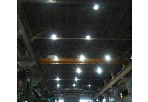 ผลงานหลอดไฟไฮเบย์ LED FSL 40W (วอร์มไวท์)