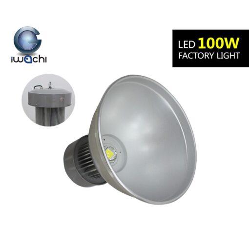ฐานโคมพร้อมห่วงห้อยโคมไฮเบย์ LED 100W (เดย์ไลท์) IWACHI