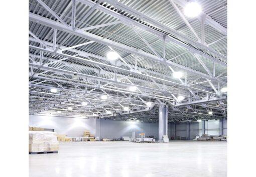 ผลงานโคมไฮเบย์ LED 100W (วอร์มไวท์) IWACHI