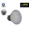 ภาพที่ห้อยโคมไฮเบย์ LED 200W (วอร์มไวท์) IWACHI