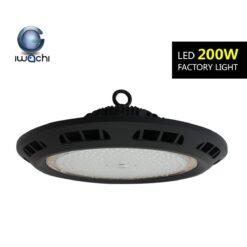 โคมไฮเบย์ LED IWACHI FACTORYLIGHT 200W (วอร์มไวท์)