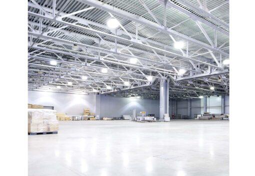 ผลงานโคมไฮเบย์ LED 100W IWACHI ชิป IDT (เดย์ไลท์)