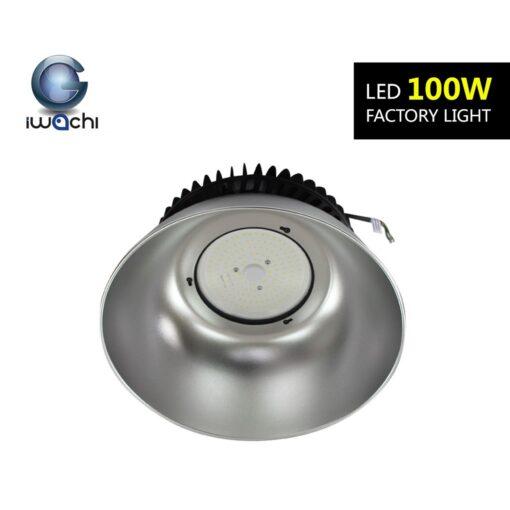 โคมไฮเบย์ LED IWACHI UFO 100W (วอร์มไวท์)