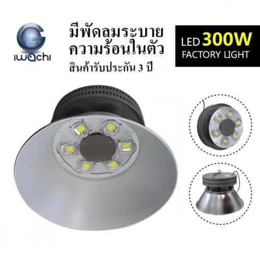 โคมไฮเบย์ LED GKD-043 300W (เดย์ไลท์) IWACHI