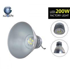 โคมไฮเบย์ LED 200W รุ่นแยกฝาทรงใหม่ (เดย์ไลท์) IWACHI