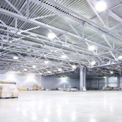 ผลงานโคมไฮเบย์ LED 200W รุ่นแยกฝาทรงใหม่ (วอร์มไวท์) IWACHI