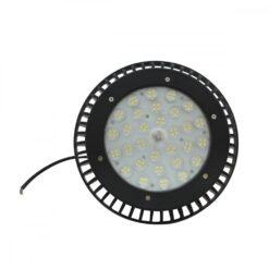 ด้านหน้าโคมไฮเบย์ LED 100W UFO รุ่นมีพัดลม (วอร์มไวท์) IWACHI
