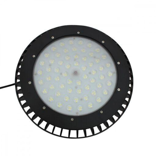 ด้านในโคมไฮเบย์ LED 150W UFO รุ่นมีพัดลม (วอร์มไวท์) IWACHI