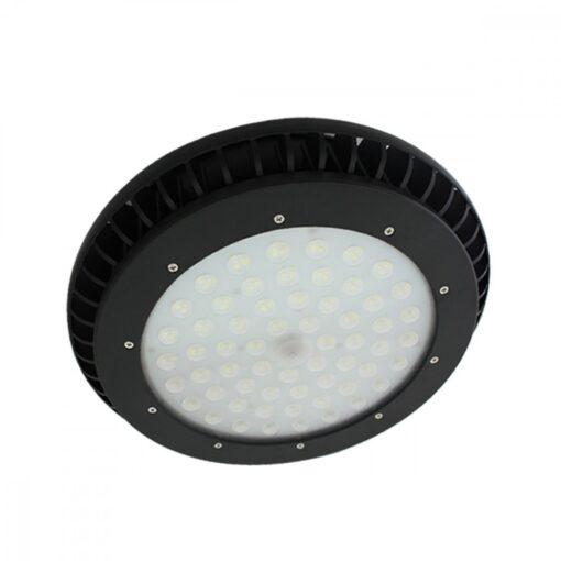 โคมไฮเบย์ LED 200W UFO รุ่นมีพัดลม (วอร์มไวท์) IWACHI