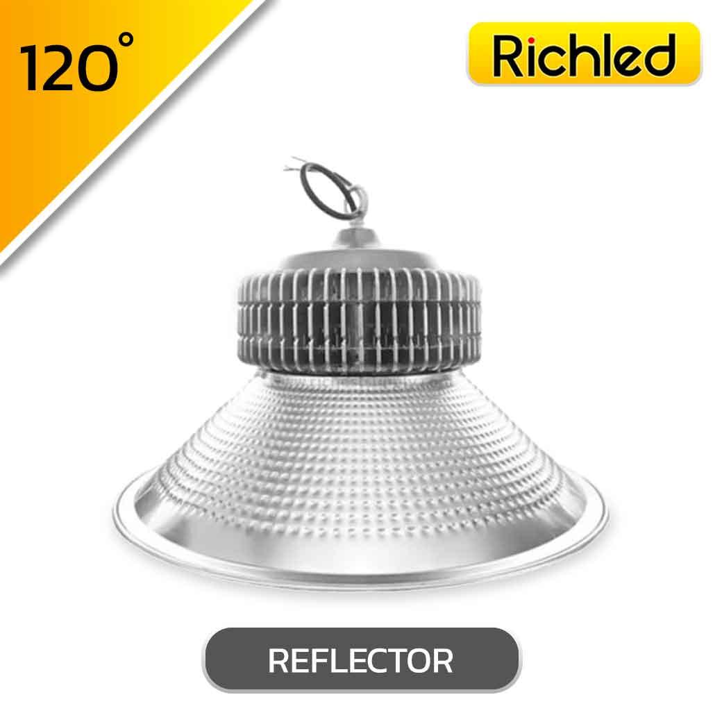 โคมไฮเบย์ LED รุ่น PLUS 100W (เดย์ไลท์) ยี่ห้อ RICHLED