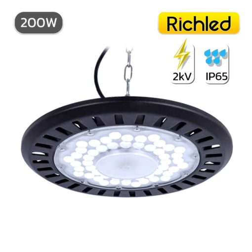 โคมไฮเบย์ LED 200w RICHLED UFO AIR SERIES